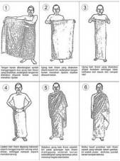 tata cara memakai baju ihrom